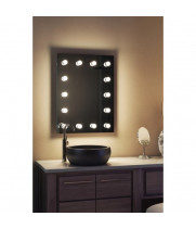 Гримерное зеркало для ванной комнаты 90х70